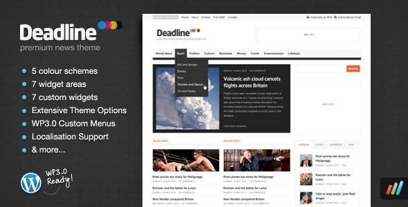 Colección de los mejores temas para WordPress 2010 (Noticias ...