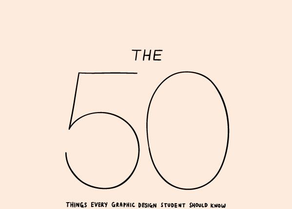 50 cosas para diseñadores