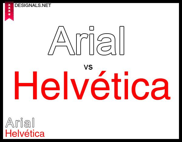 helvetiva vs arial