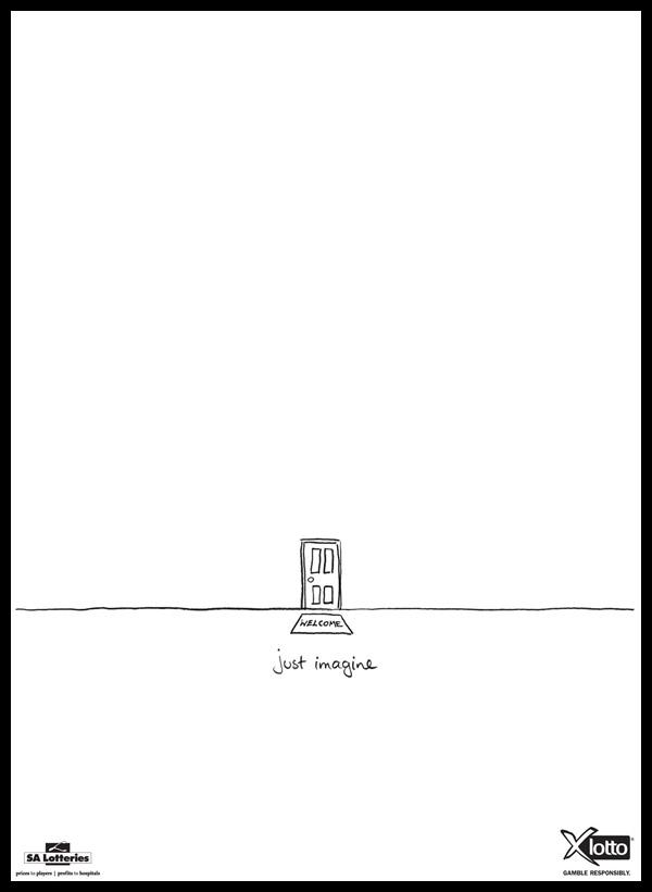 publicidades minimalistas