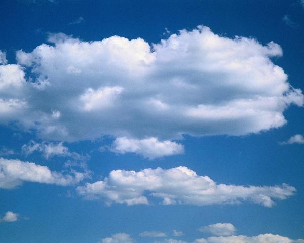 Nubes en alta calidad