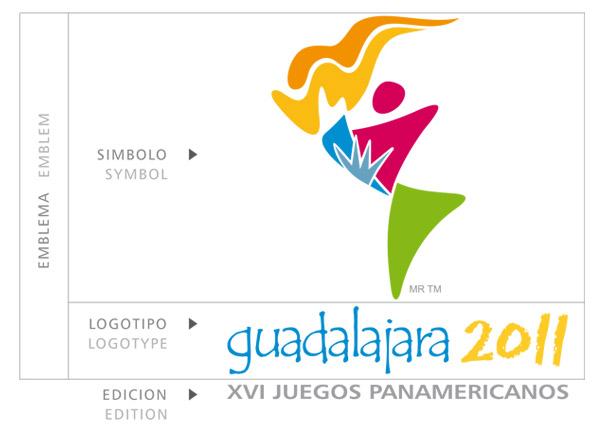 guadalajara 2011 logo