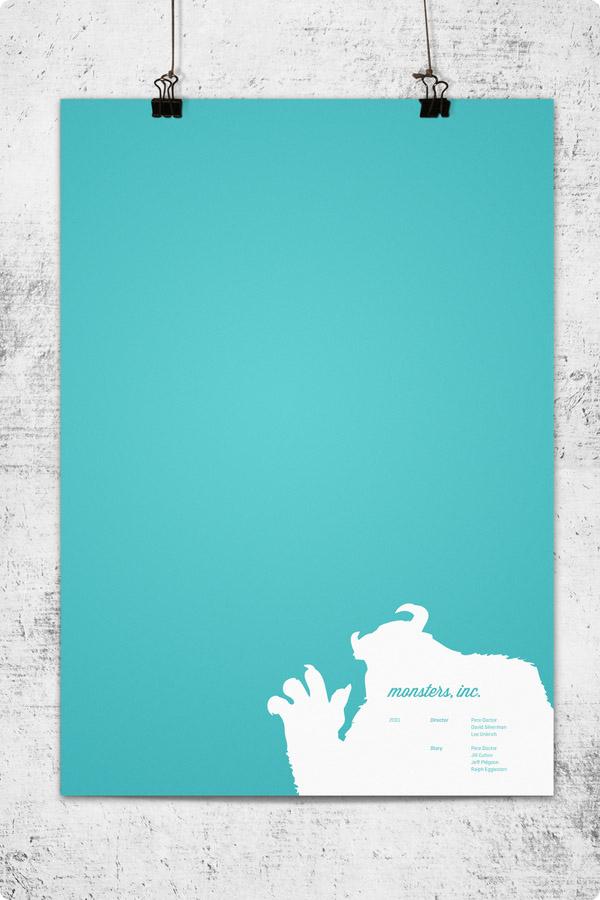 pixar posters