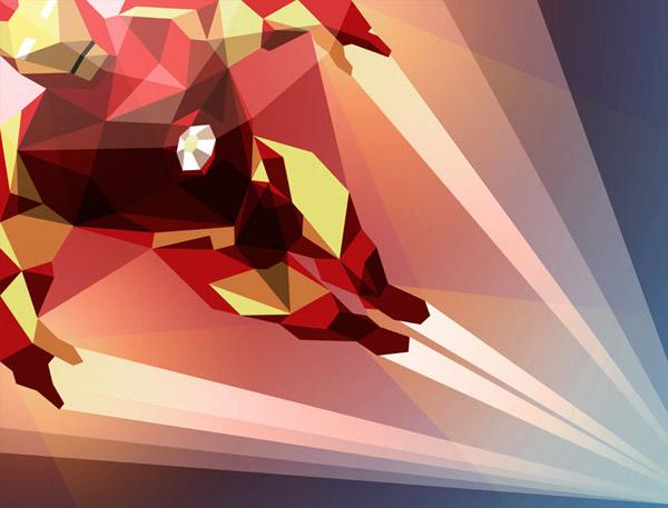 ilustración geométrica