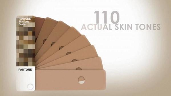 pantone skin