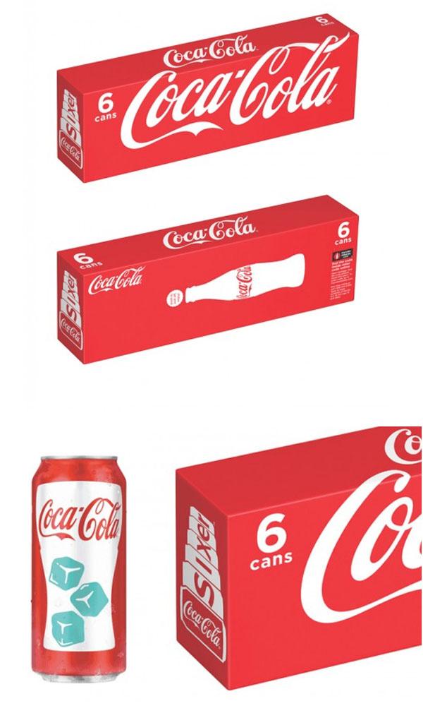 nuevas latas coca cola