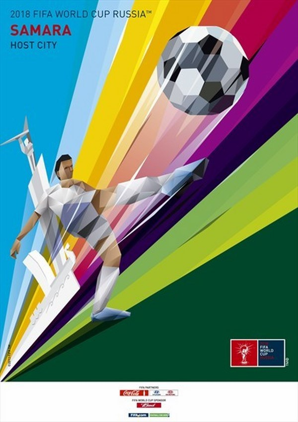 posters fifa russia 2018