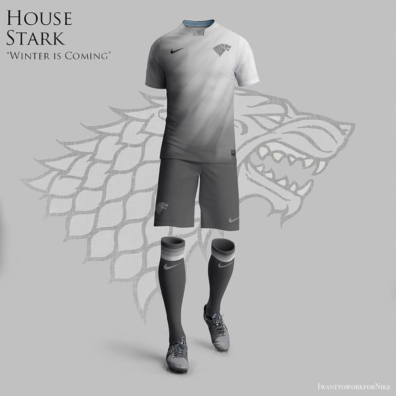 Camisetas Game Of Thrones Nike