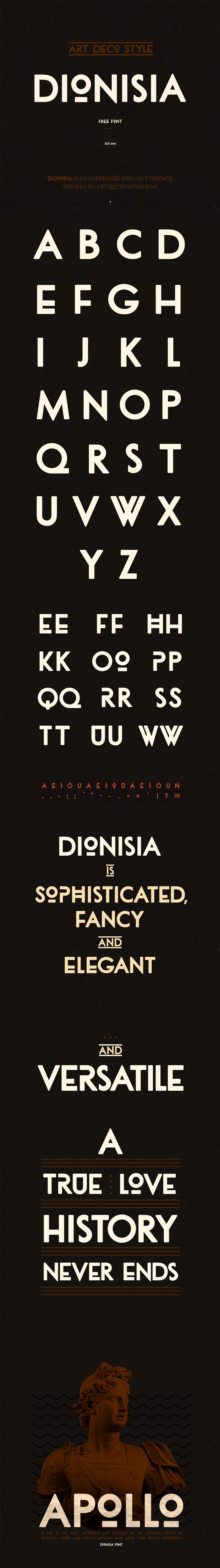 dionisia por el tano veron tipografia
