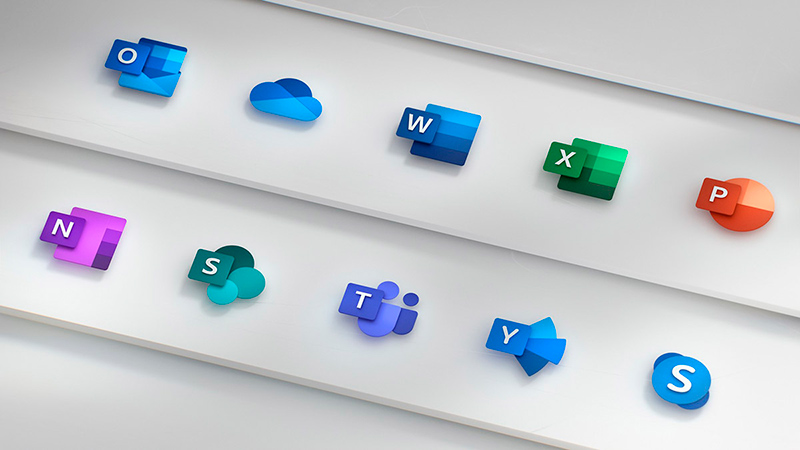 office icons 2018